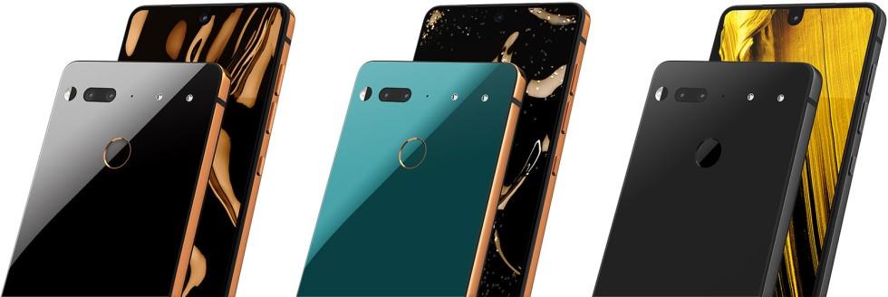 Essential Phone получил три эксклюзивных цвета1