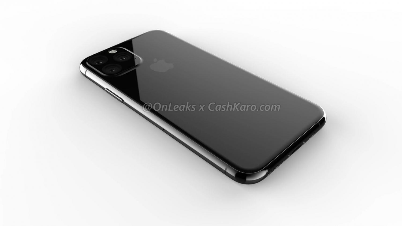 Рендеры iPhone 2019 года с камерой в форме треугольника6