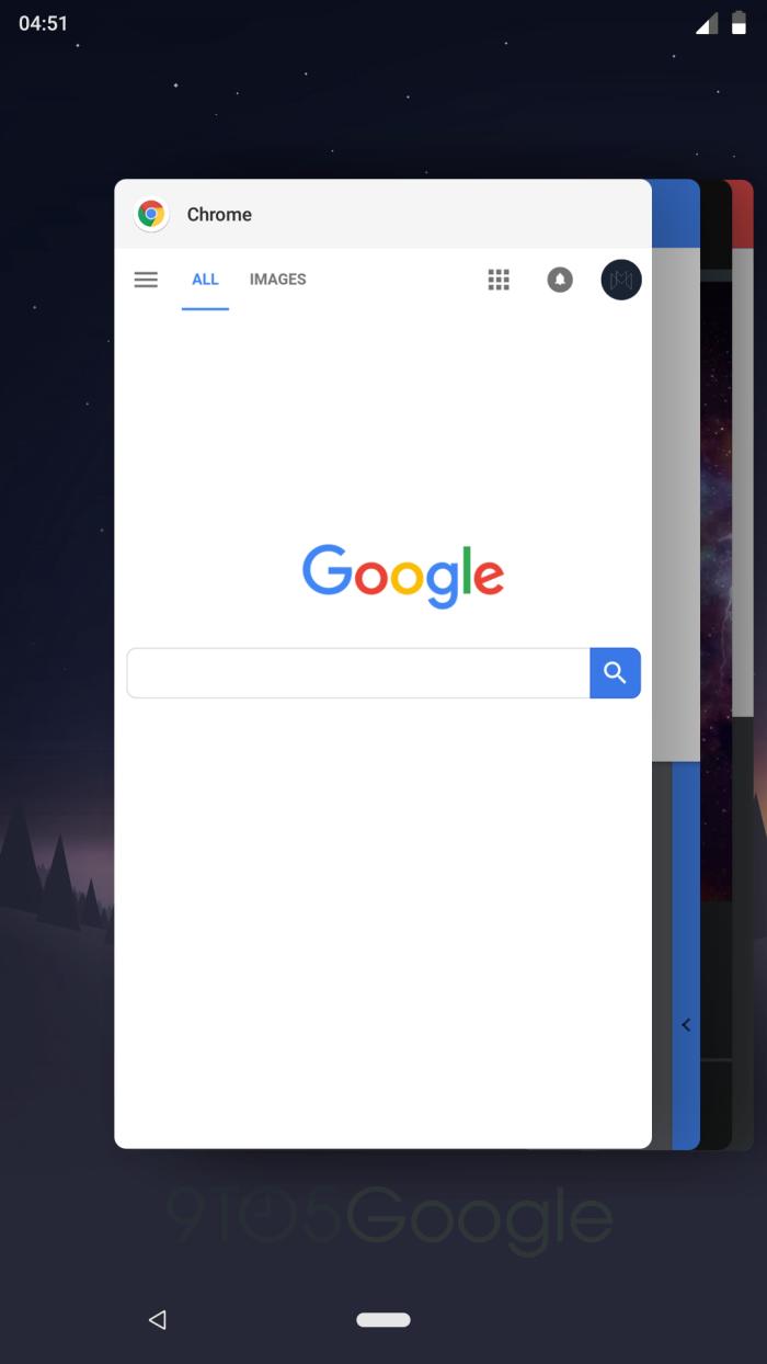 В Android P изменится вид списка запущенных приложений2
