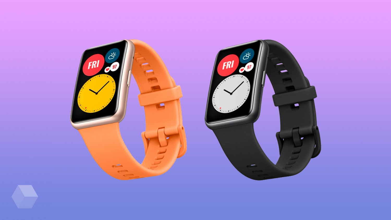 Официальные рендеры часов Huawei Watch Fit