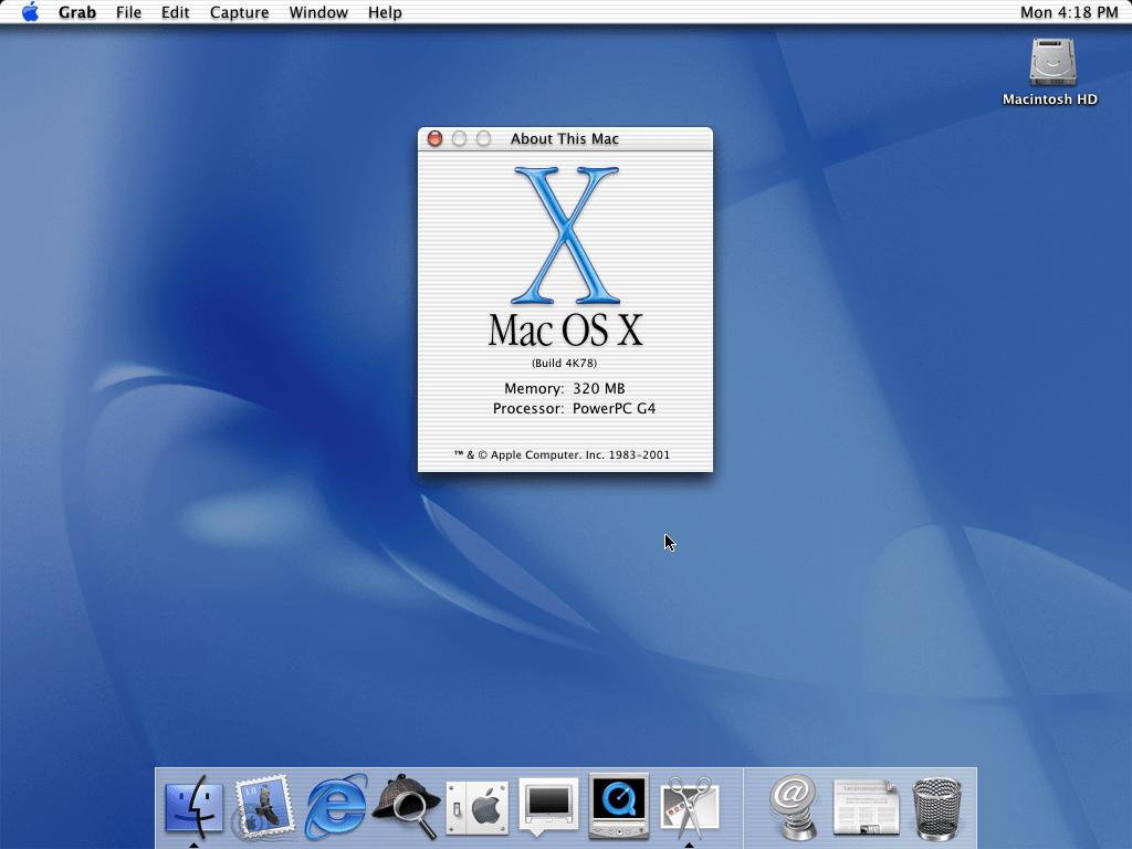История развития и стандартные обои со всех версий macOS8