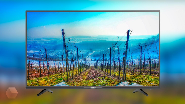 49-дюймовый телевизор Hisense за 17 990 рублей на AliExpress TMall