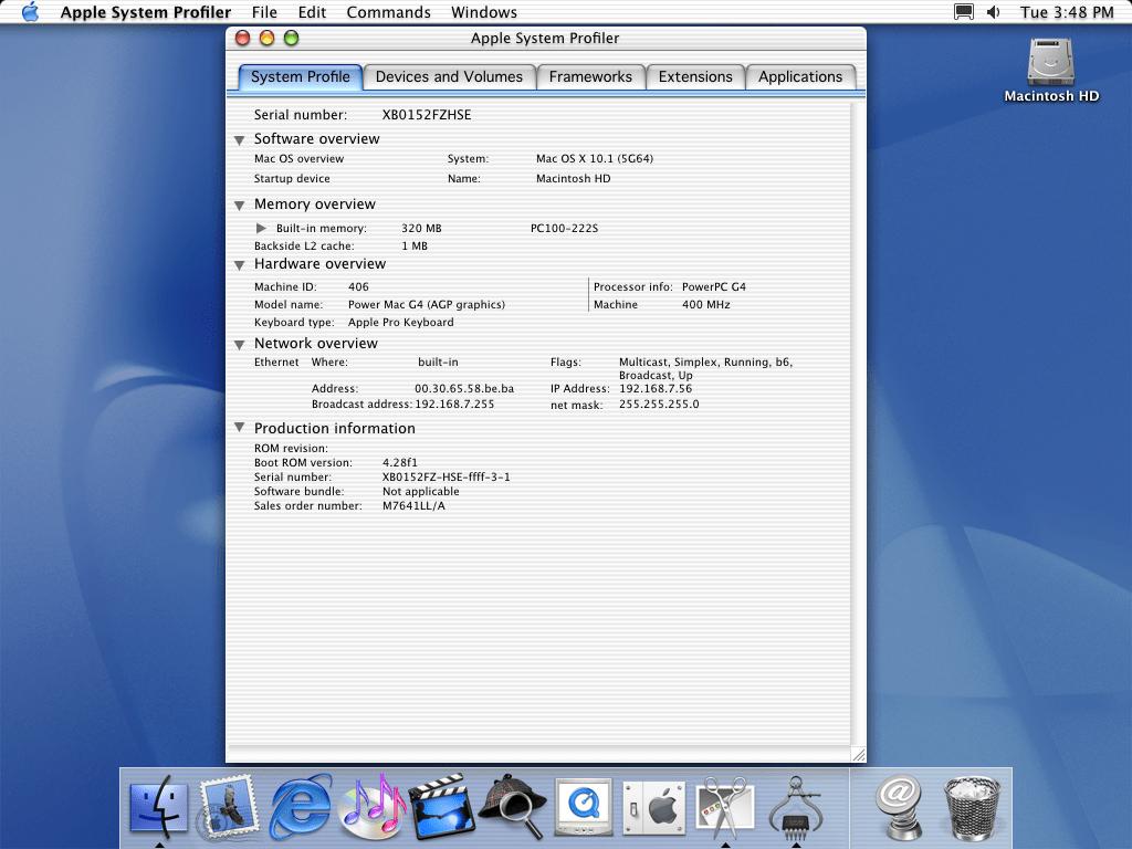 История развития и стандартные обои со всех версий macOS9