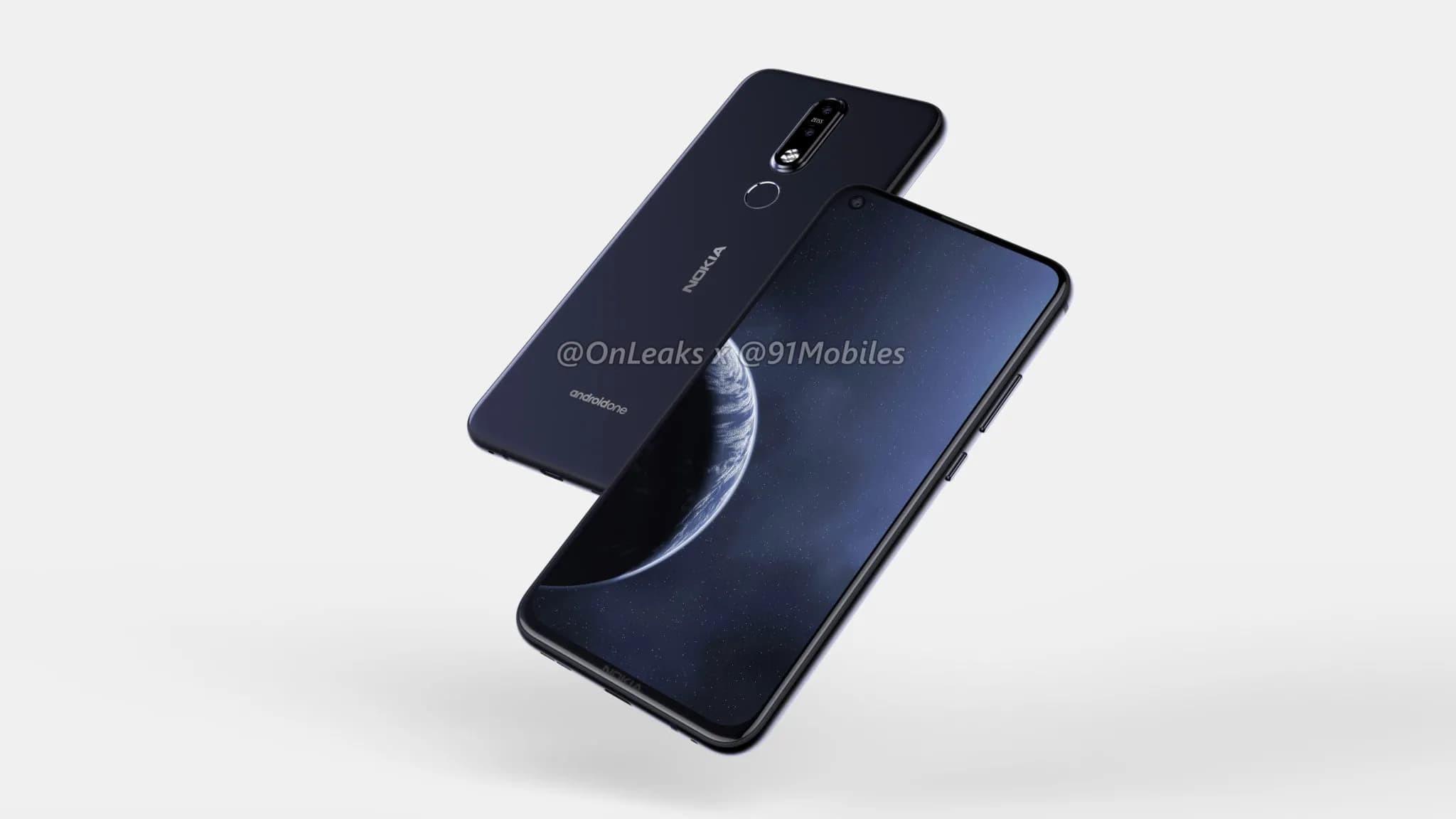 Nokia 6.2 — первый смартфон бренда с отверстием в дисплее