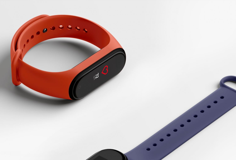 Xiaomi официально представила умный браслет Mi Band 4 с NFC4