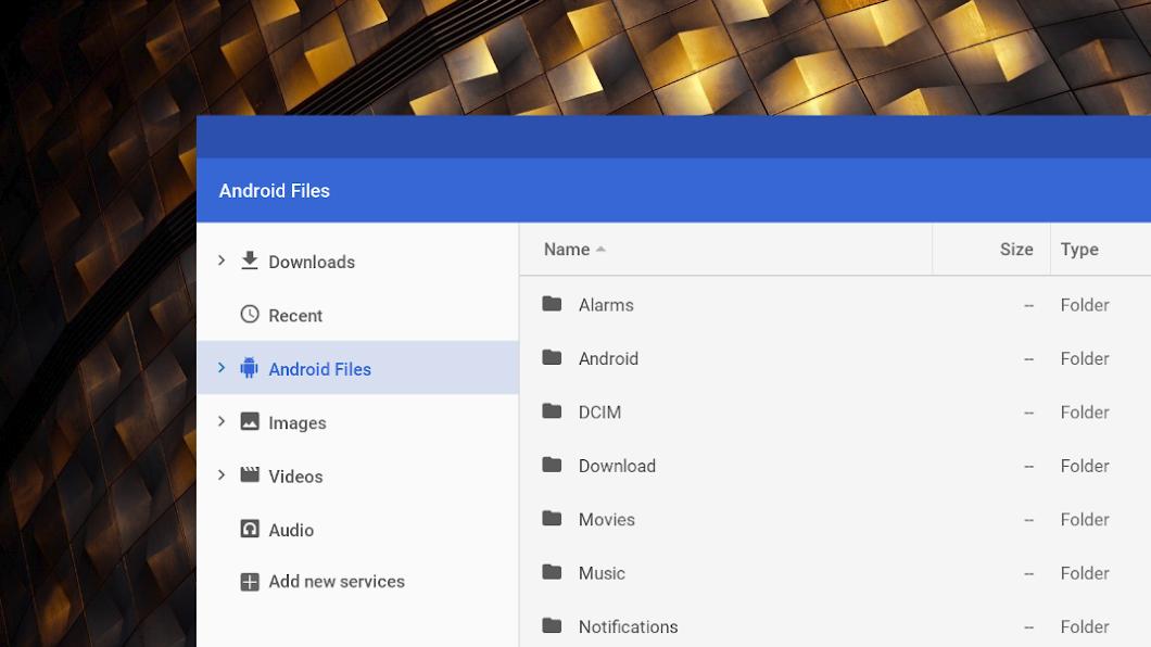 Chrome OS откроет доступ к файлам Android-приложений1