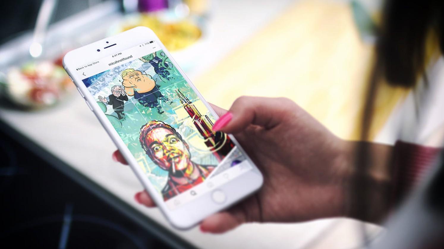 Instagram научился пересказывать фото слабовидящим пользователям
