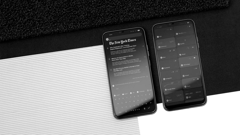 BllocZero18: смартфон с монохромным Android Oreo