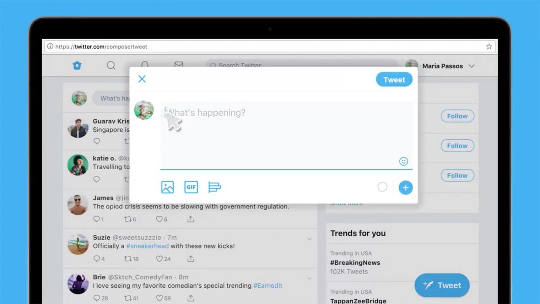 Веб-версия Twitter теперь поддерживает публикацию отложенных твитов