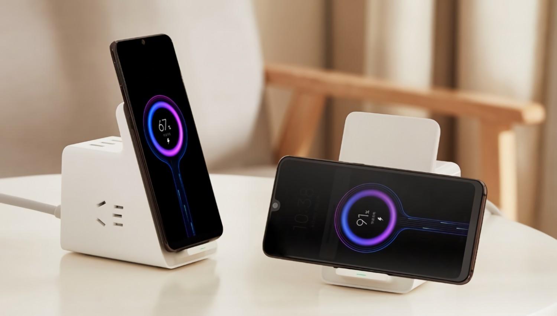 Xiaomi анонсировала универсальную беспроводную зарядку со встроенными розетками