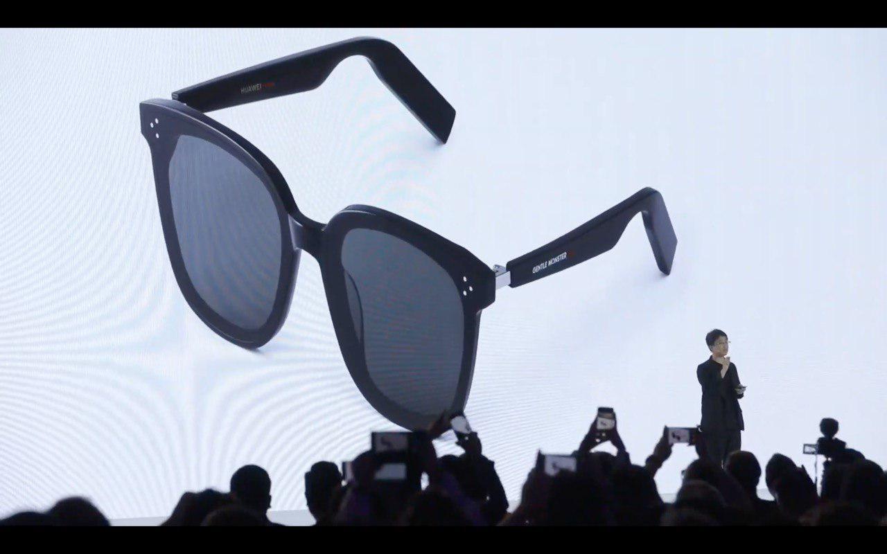 Умные очки Huawei позволят слушать музыку без наушников2