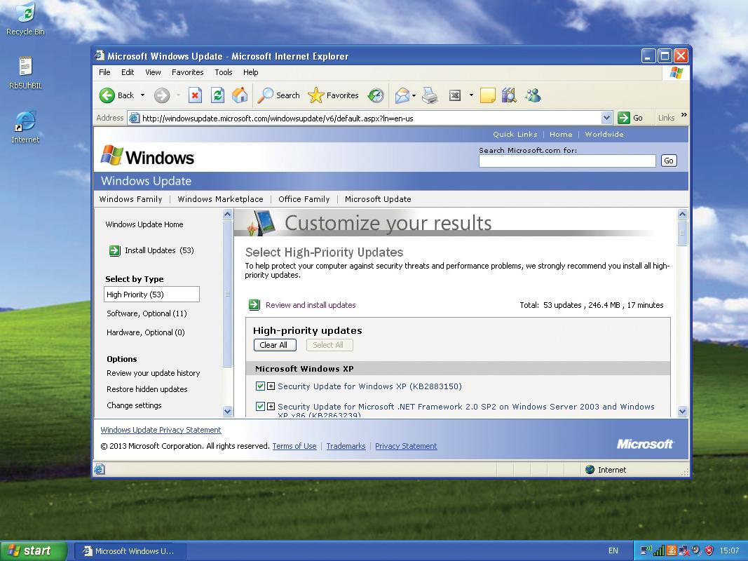 История развития и стандартные обои операционной системы Windows9