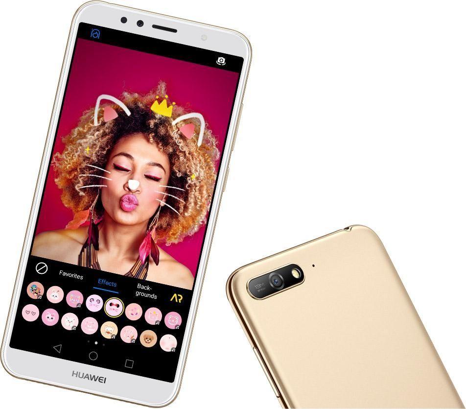 Huawei анонсировала доступный смартфон Y6 (2018)2