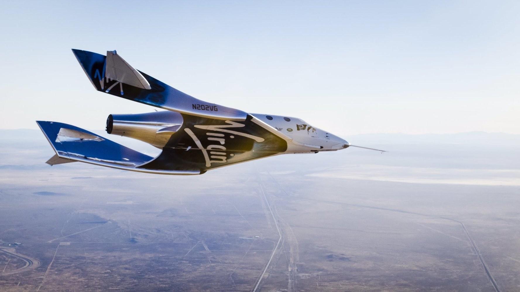 Virgin Galactic сделала третий шаг к космическому туризму