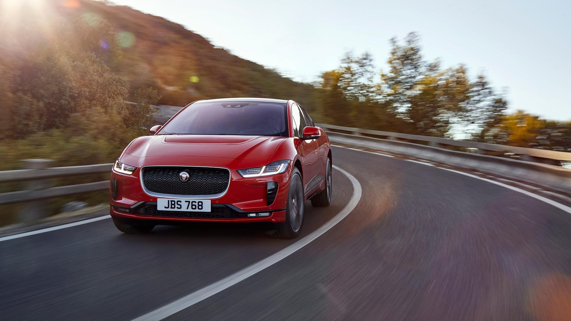 Электрический кроссовер Jaguar I-Pace появится в России