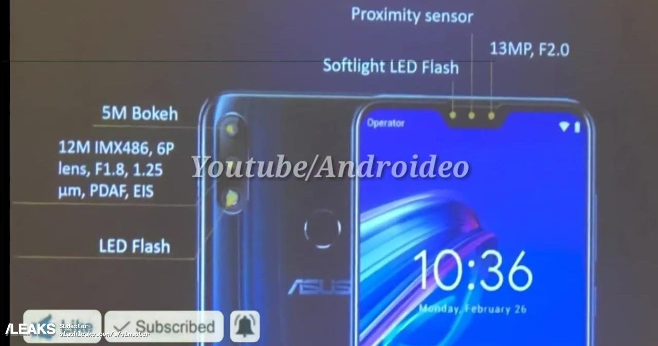 Внешний вид ASUS ZenFone Max Pro M2 стал известен из видео1
