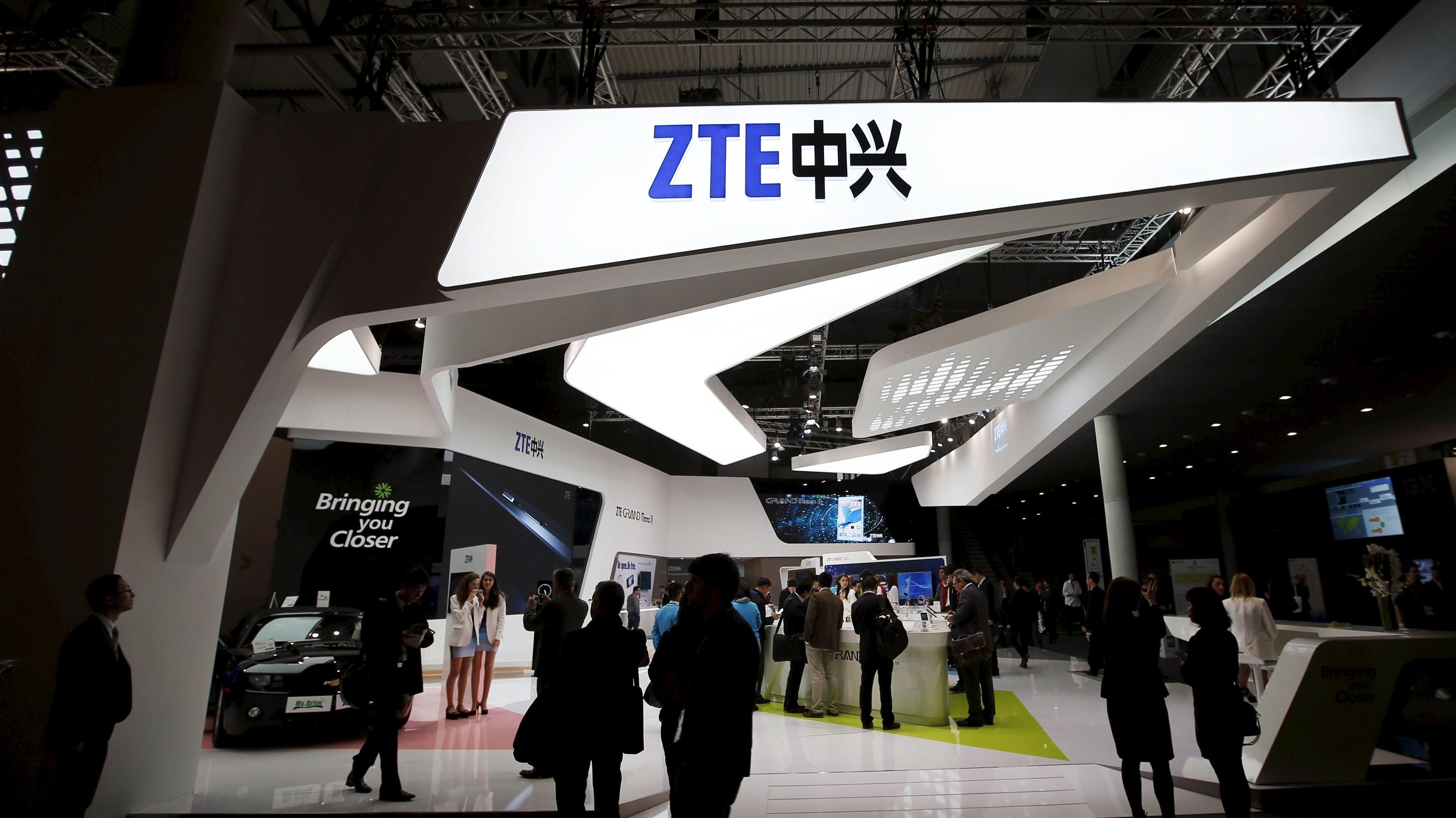 Правительство США запретило американским компаниям продавать компоненты ZTE