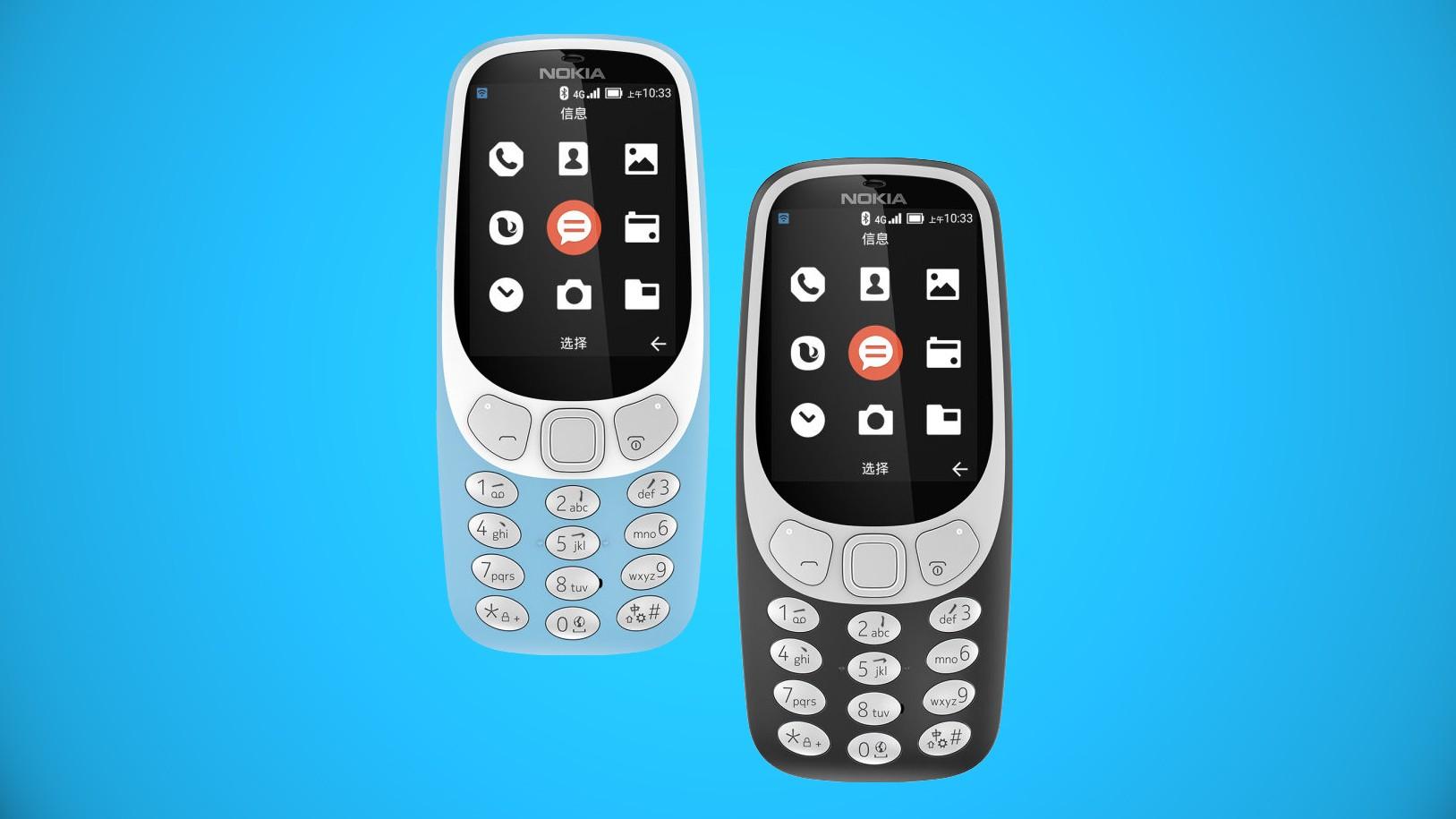 Nokia 3310 2018 года обзавелась модулем 4G