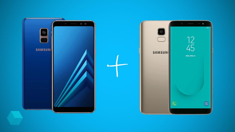 Второй смартфон Samsung в подарок за покупку Galaxy А8 (2018)