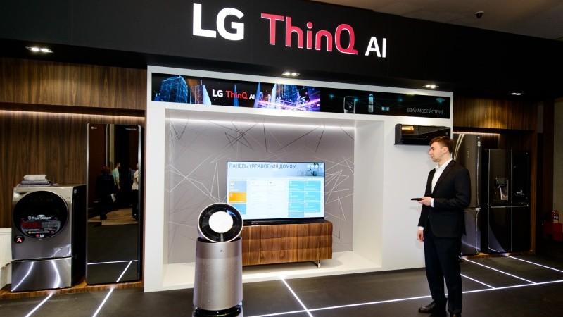 Мониторы, телевизоры и другие новинки LG c презентации в Москве