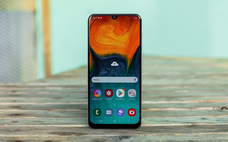 Обзор Samsung Galaxy A30 и A50 — вся власть экрану9
