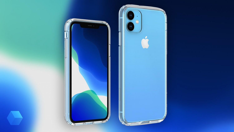 Рендеры iPhone XR 2019 с прозрачным чехлом