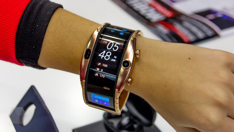 Nubia начнёт продажи часов с изогнутым дисплеем 8 апреля