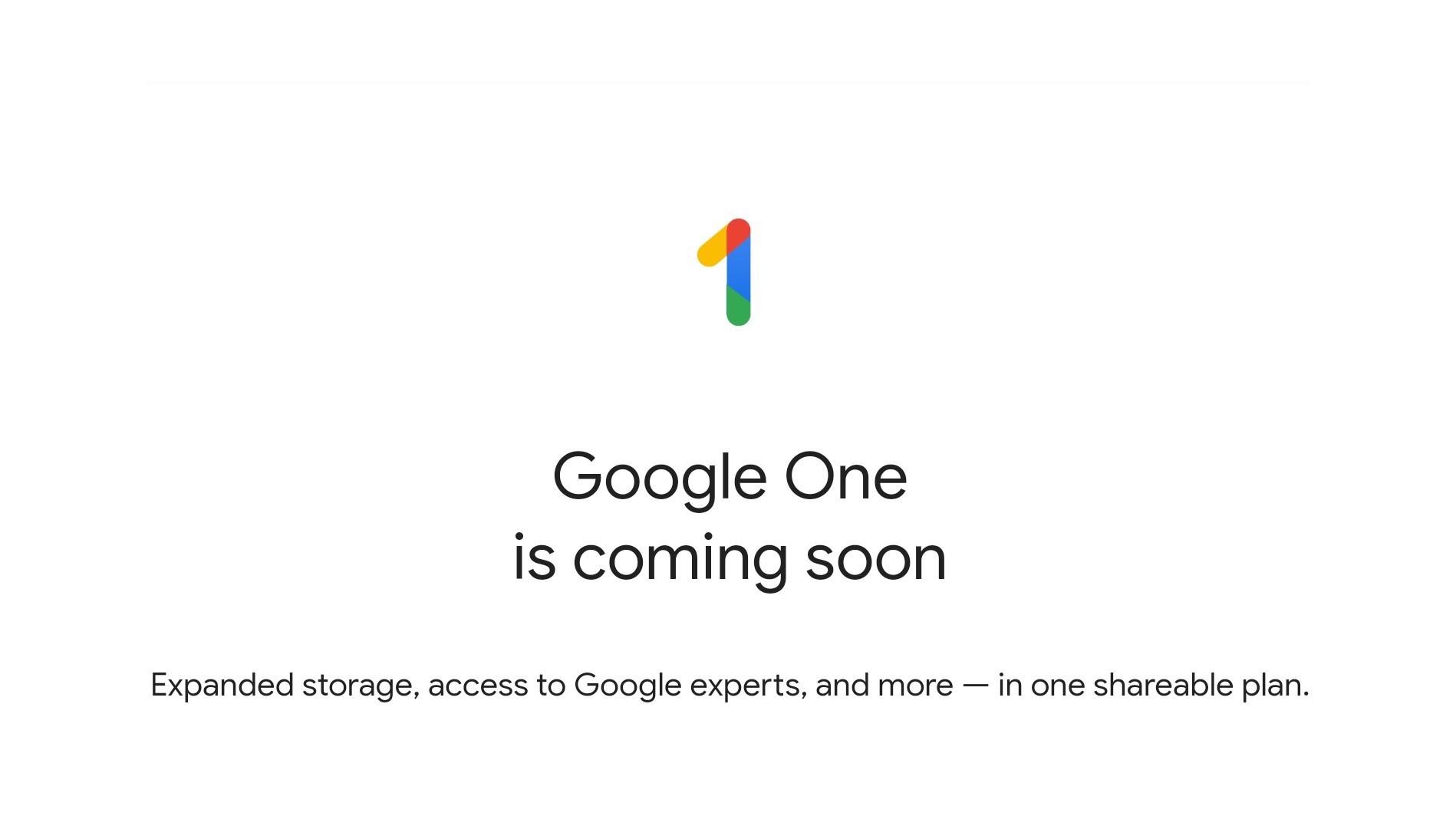 Google One заменит безлимитное хранилище Drive
