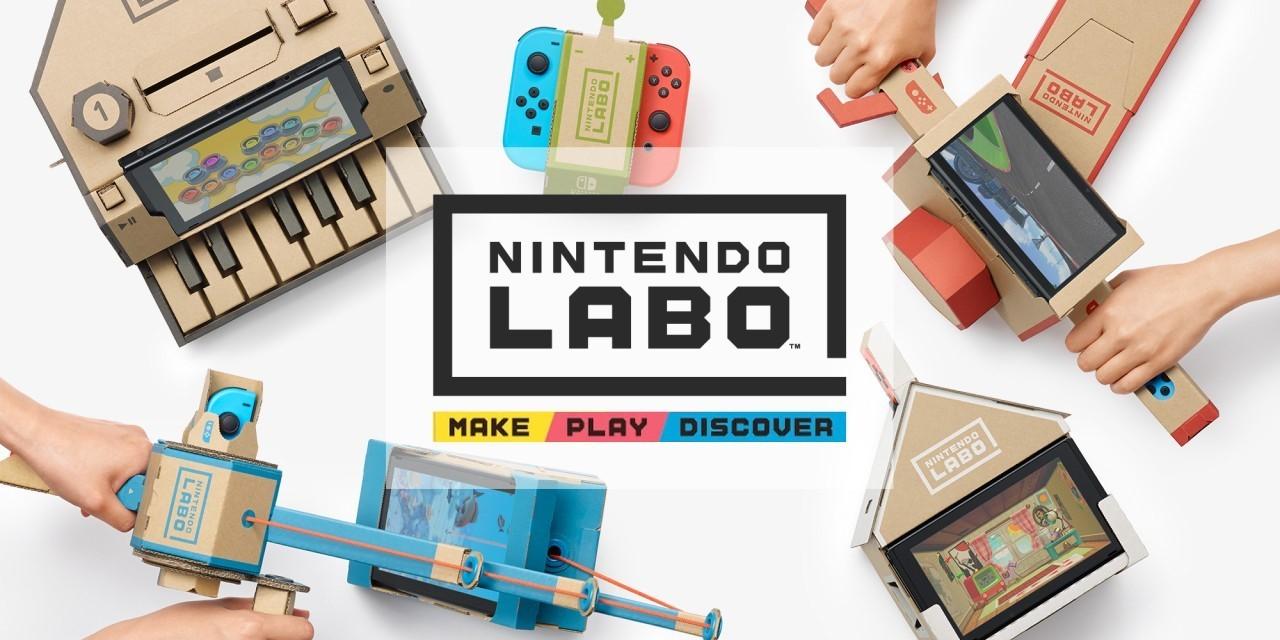 Nintendo представила картонные игрушки для Switch
