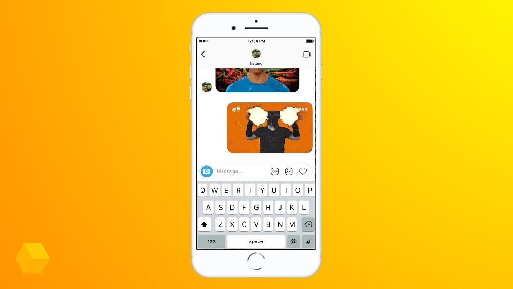 Нововведения в Instagram: репосты и GIF-изображения в Direct