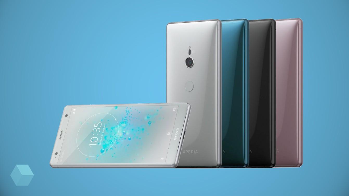Sony представила Xperia XZ2 и XZ2 Compact