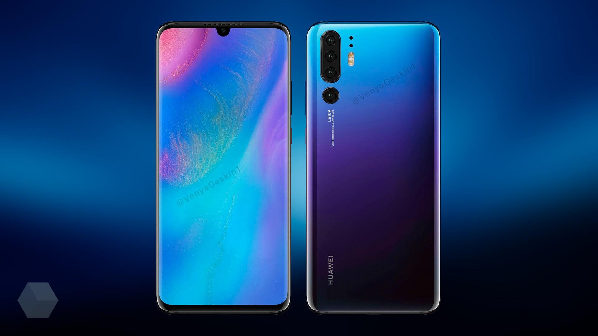 Huawei P30 Pro не получит отверстие в дисплее