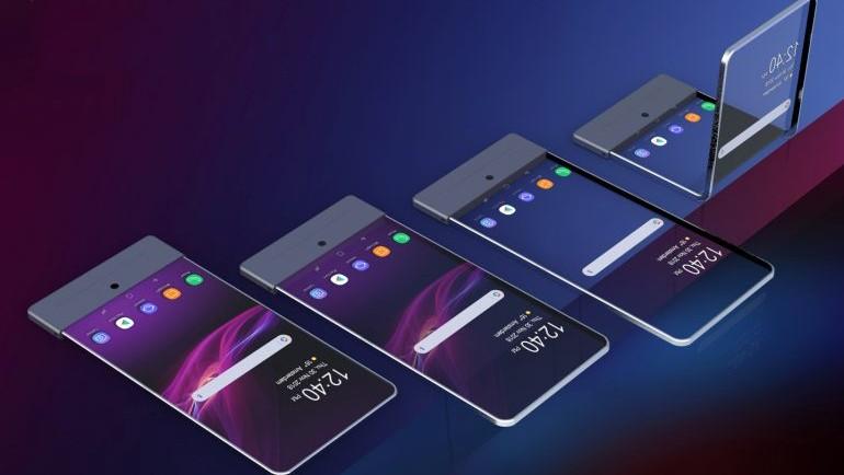 Sony запатентовала гибкие смартфоны с прозрачным экраном