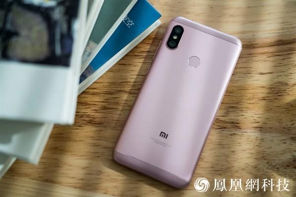 Официальные рендеры и дата анонса Xiaomi Redmi 6 Pro7