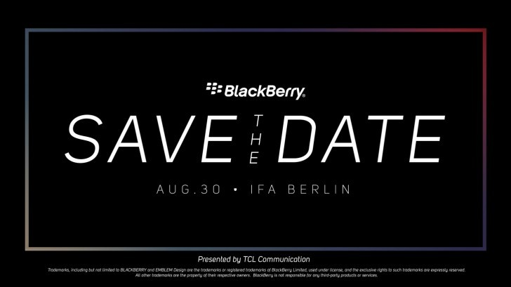 BlackBerry может показать лайт-версию KEY2 на IFA 20181