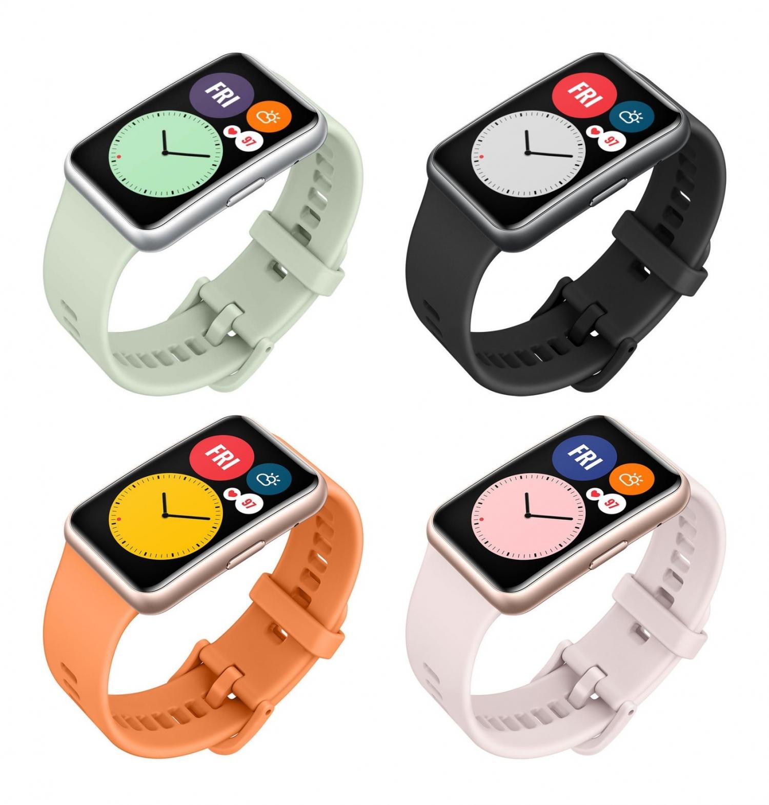 Официальные рендеры часов Huawei Watch Fit5