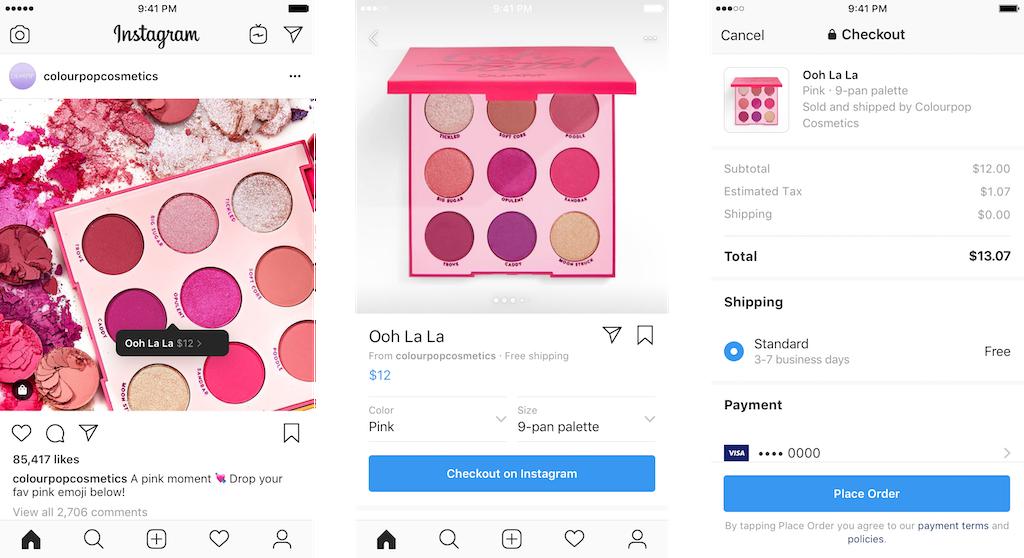 В Instagram теперь можно покупать товары, не покидая приложение1