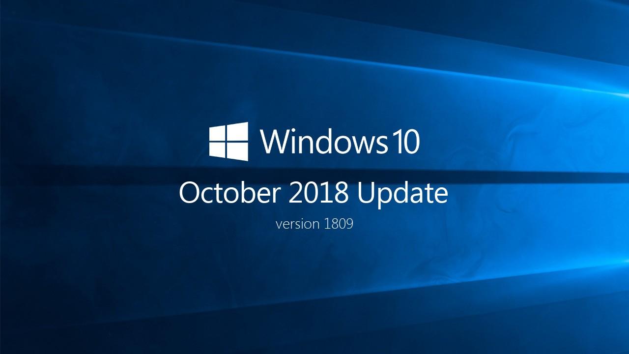 Microsoft остановила распространение Windows 10 October 2018 Update