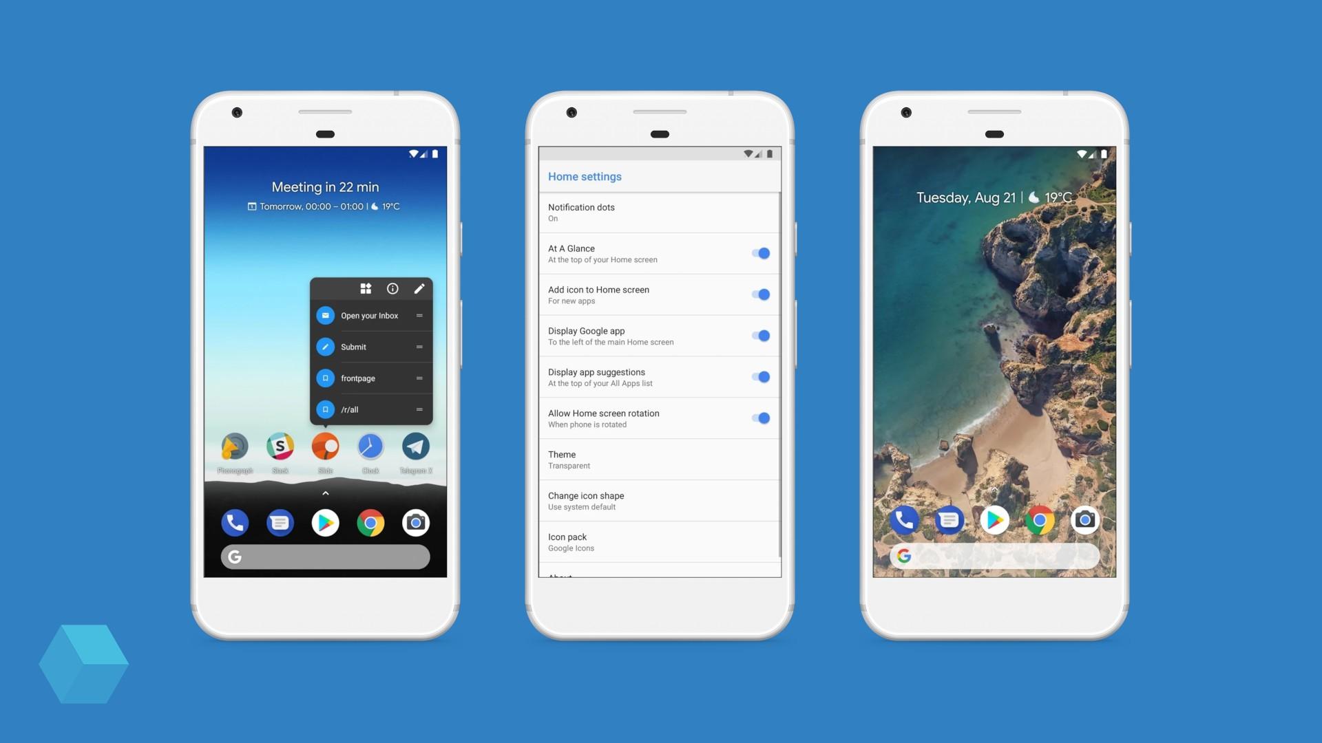 Pixel Launcher для сторонних устройств появился в Play Маркете