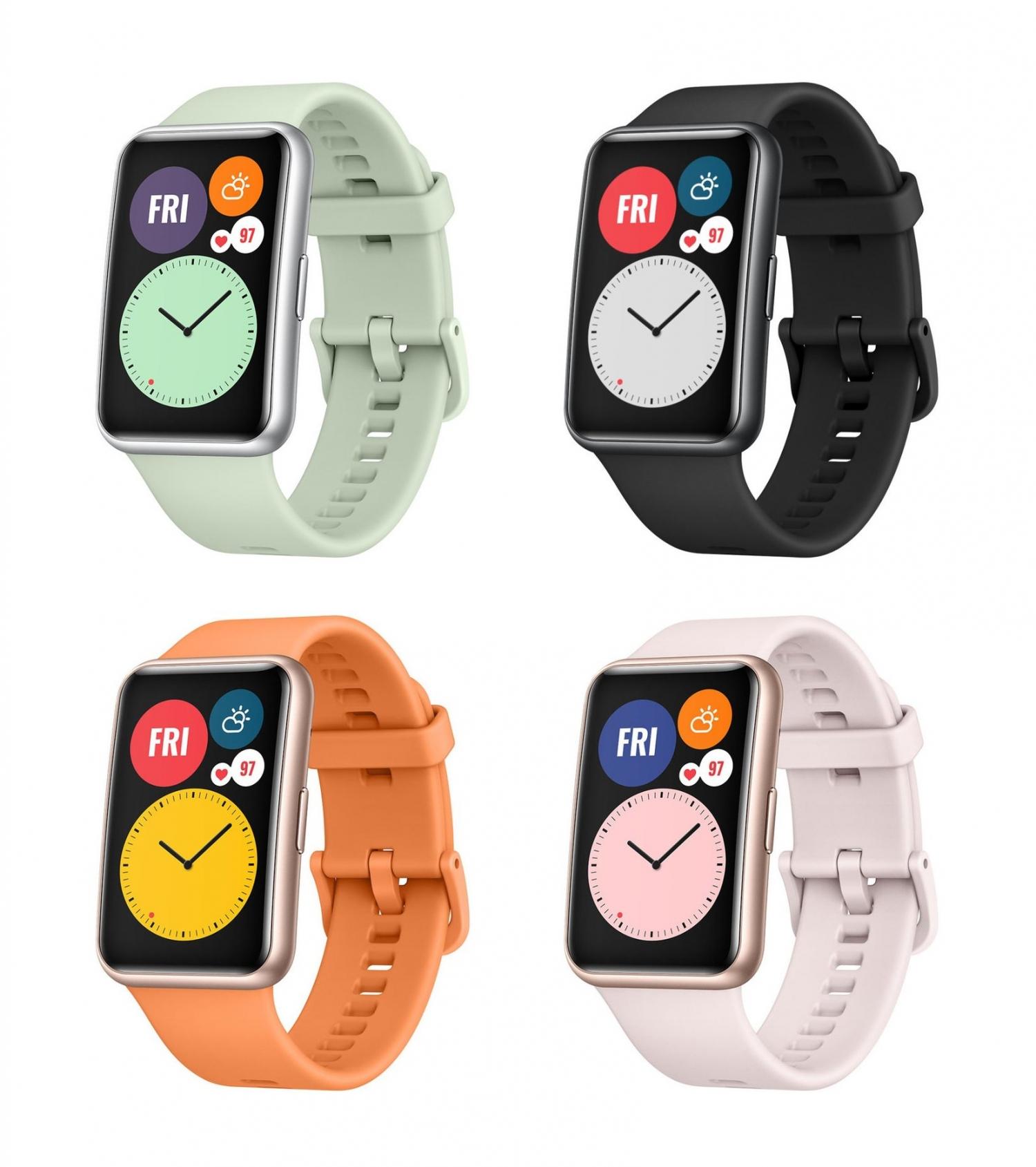 Официальные рендеры часов Huawei Watch Fit4