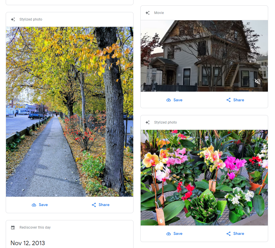 Веб-версия «Google Фото» обновилась для соответствия Material Theme4