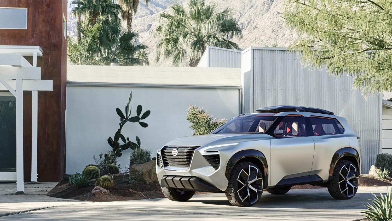 Nissan показала концепт-кар с семью экранами для управления2