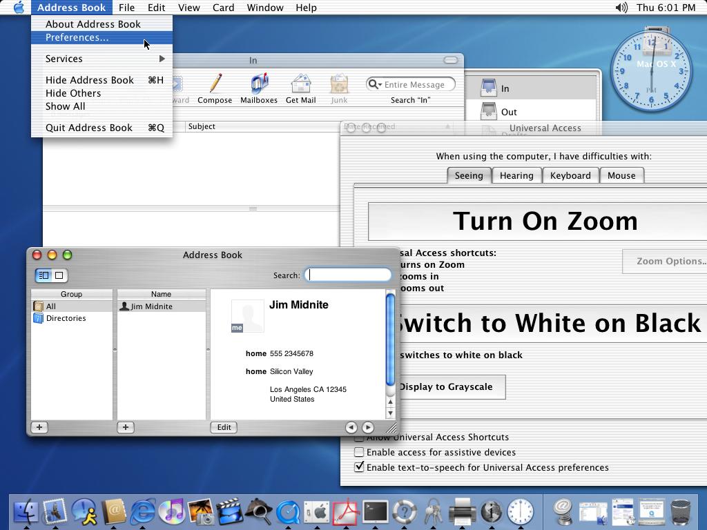 История развития и стандартные обои со всех версий macOS10