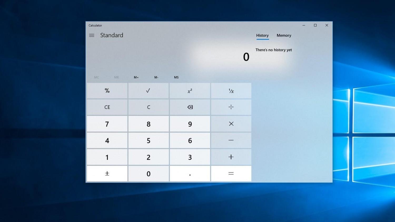 В калькуляторе Windows 10 появится поддержка графических уравнений