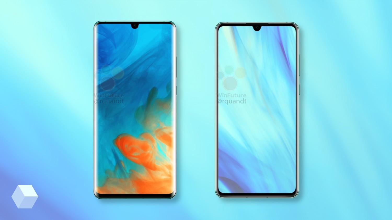 Полные характеристики Huawei P30 и P30 Pro до анонса