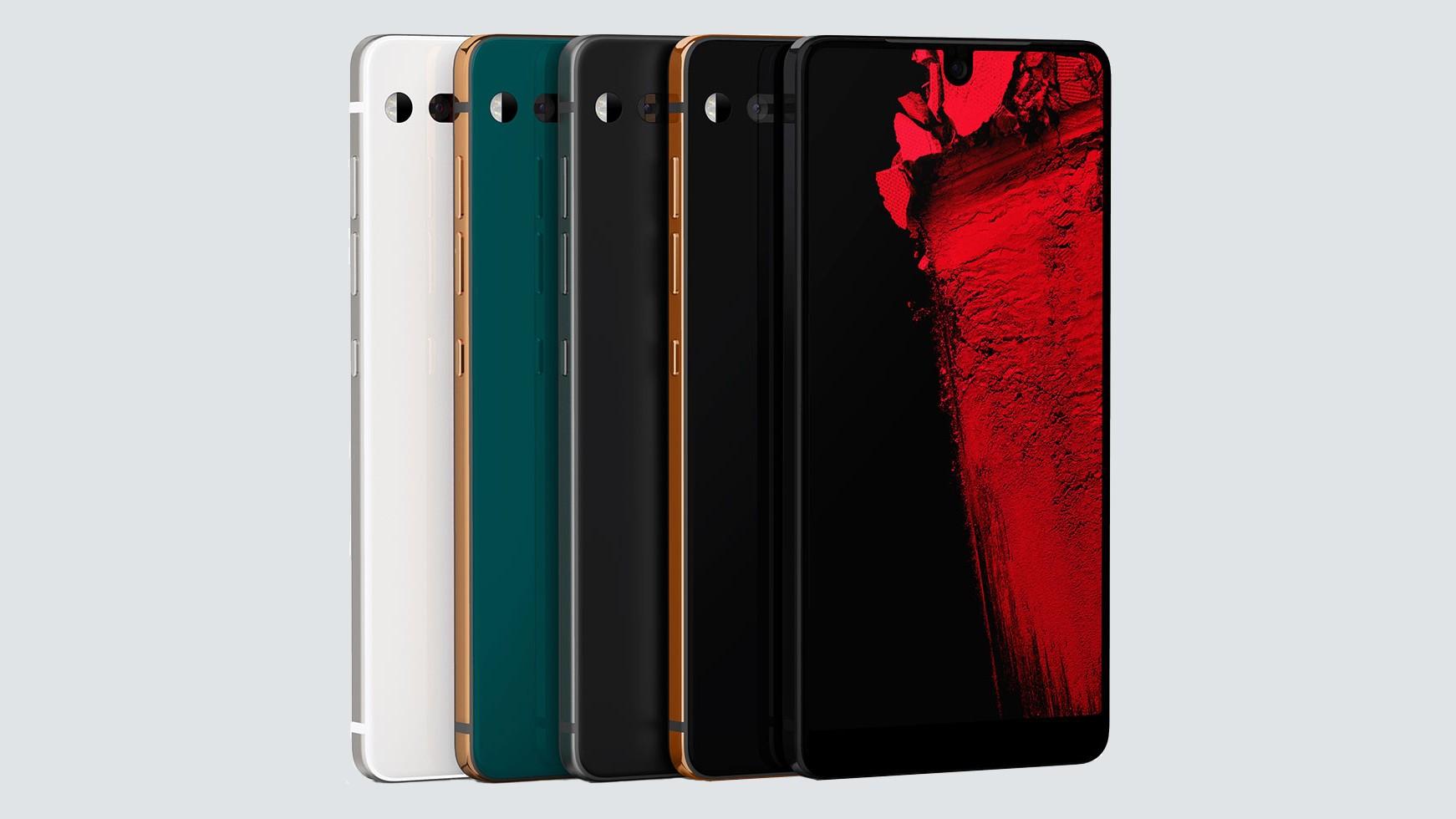 Essential Phone получил три эксклюзивных цвета