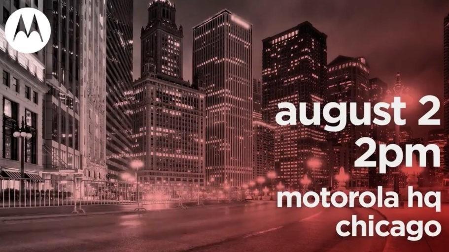 Motorola назначила масштабную презентацию на 2 августа