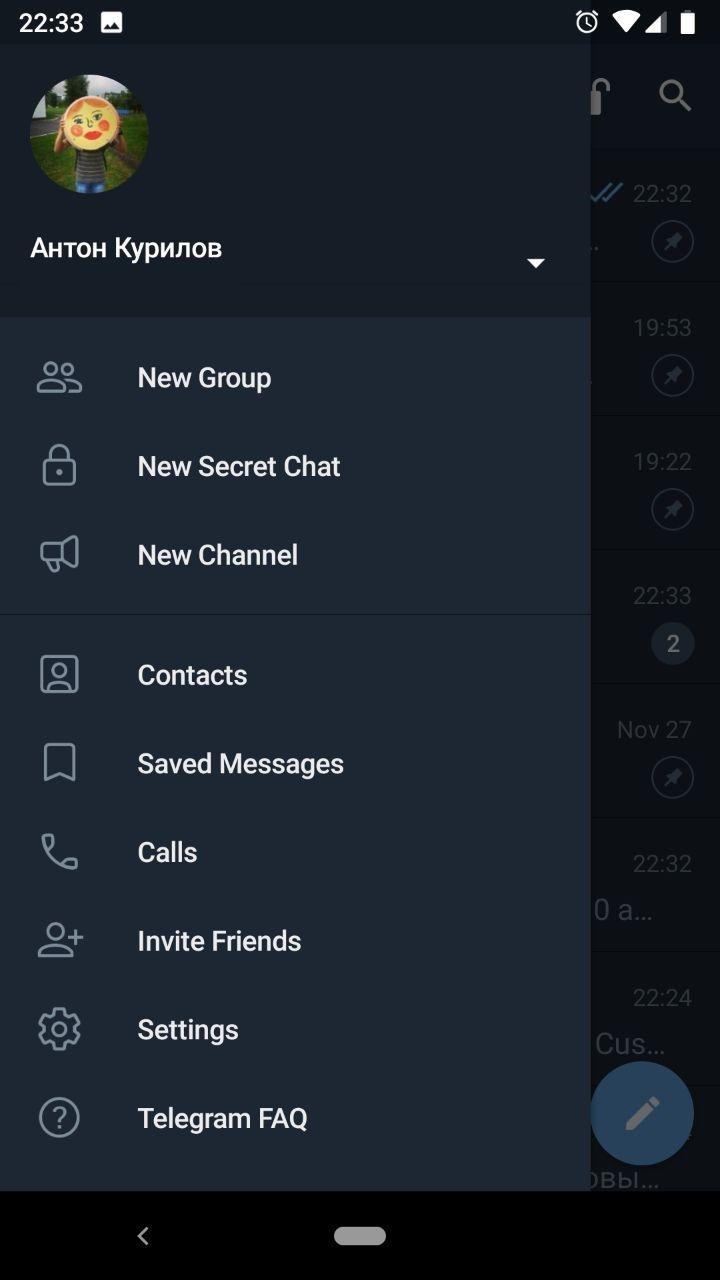 Telegram для Android получил новый дизайн и Instant View 2.04