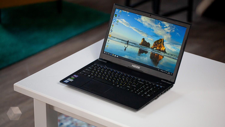 Обзор игрового ноутбука Hasee K670E-G6T3 V2.0: доступный зверь