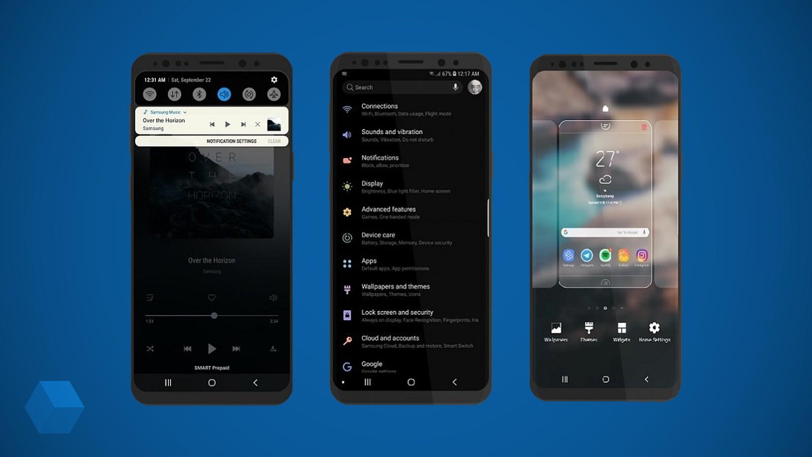 Что нового в Samsung Experience 10 на Android Pie?